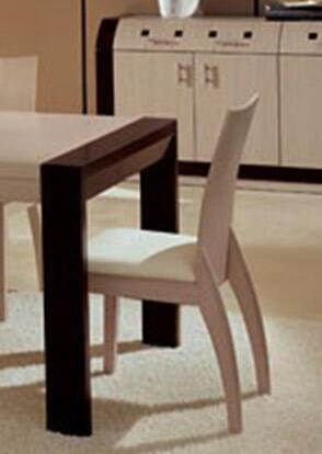 VIG Furniture VGERPGCHAIRWENGE Modrest Pigaelle Series Modern Wood Frame Dining Room Chair