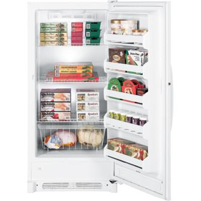 GE FUF14SVRWW  Freezer with 13.7 cu. ft. Capacity in White