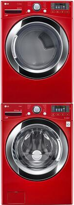 LG LG3PCFL27RG1STCKKIT1 Washer and Dryer Combos