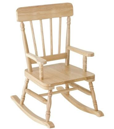 Levels of Discovery RAB00050  Armless  Wood Frame Rocking Chair