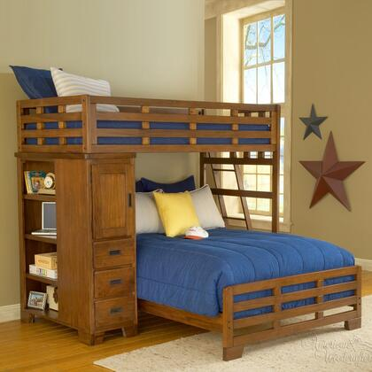 American Woodcrafters 1800TFLB  Full Size Bunk Bed