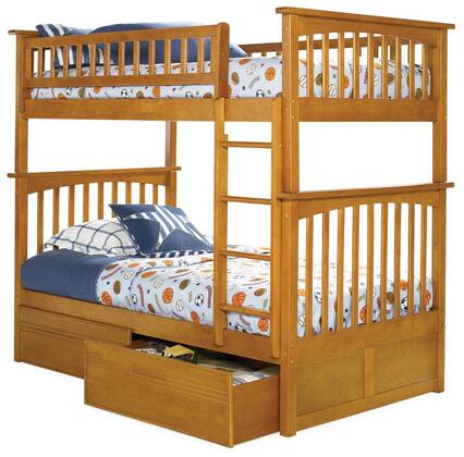 Atlantic Furniture AB55117  Twin Size Bunk Bed