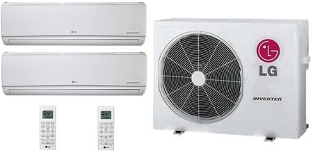LG 730307 Dual-Zone Mini Split Air Conditioners