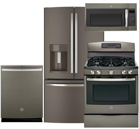 Ge 390953 Slate Kitchen Appliance Packages Amp Bundles