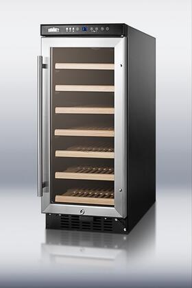 """Summit SWC1535 14.75"""" Freestanding Wine Cooler"""