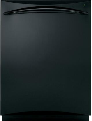 """GE PDWT200VBB 24"""" Profile Series Built-In Fully Integrated Dishwasher"""