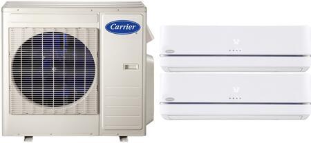 Carrier 38MGQD27340MAQB0912B3 Performance Dual-Zone Mini Spl