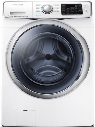 "Samsung WF45H6300AW 27"" 6300 Series 4.5 cu. ft. Front Load Washer, in White"