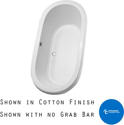 Toto ABY794N12 Nexus Series Drop-In Soaker Bathtub with Acrylic Construction, Slip-Resistant Surface, and Grab Bar, Sedona Beige Finish