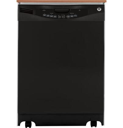 GE GLC5604VBB  Portable Full Console Dishwasher with in Black