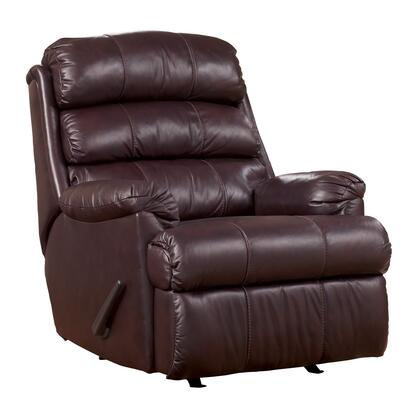 Signature Design by Ashley 4330125 Hayes - Burgundy Series Contemporary Leather  Recliners