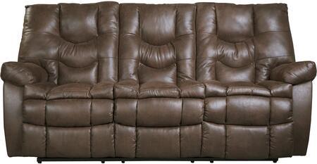 Benchcraft 9220188 Burgett Series Reclining Fabric Sofa