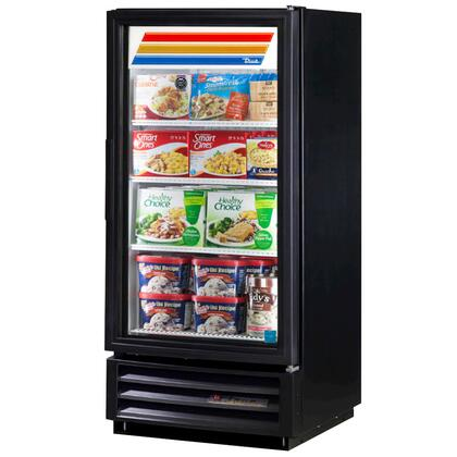 True GDM-10F 10 Cu. Ft. Glass Door Merchandiser with Hydrocarbon Refrigerant, LED Lighting, 1/3 HP and Thermal Insulated Glass Swing-Doors