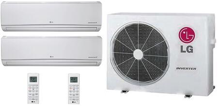 LG 706637 Dual-Zone Mini Split Air Conditioners