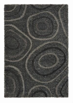 Citak Rugs 5670-050X Shoreline Collection - Pebble - Graphite Mix