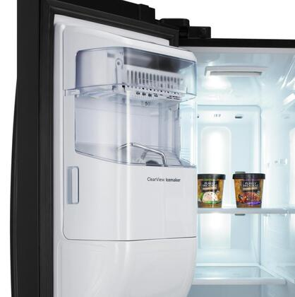 Samsung Appliance Rs265tdrs Side By Side Refrigerator With