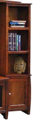 Legends Furniture CV3204SPRCurve Series Wood 3 Shelves Bookcase
