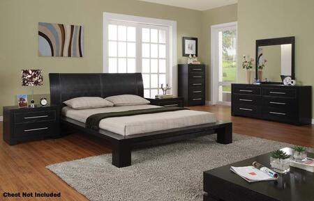 VIG Furniture VGNFBERLINSETQ 5 Piece Bedroom Set