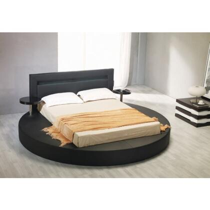 VIG Furniture VGKCPALAZZOKBLK  King Size Platform Bed