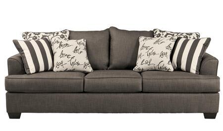 Milo Italia MI271931CHAR Jakayla Series Stationary Fabric Sofa