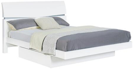 Global Furniture USA AURORAWHQB Aurora Series  Bed
