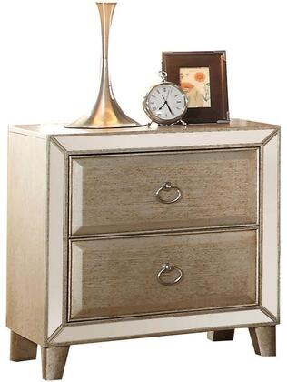 Acme Furniture 21003 Voeville Series Square Night Stand