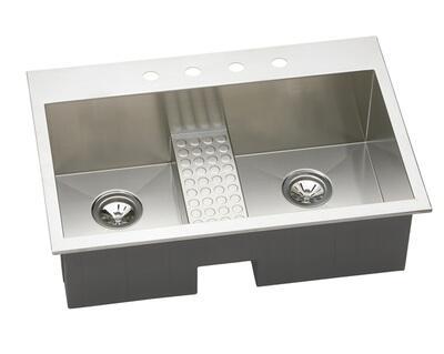 Elkay EFTLB332210CDBL2 Kitchen Sink