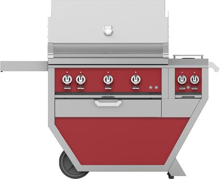 54 in Deluxe Grill with Side Burner    Matador