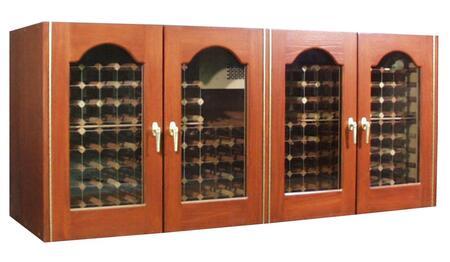 """Vinotemp VINO400CREDPROJB 88"""" Wine Cooler"""