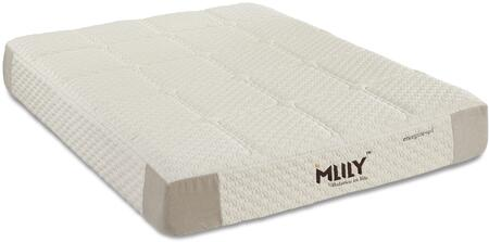 """MLily Energize Collection ENERGIZE11 11"""" Mattress with Pocketed Coils Layered, Cooling Gel Memory Foam, Quilted Foam Cover, Spandex Blended Cover and Removable Cover in Beige Color"""