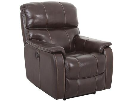 Living Room Walnut Power Recliner