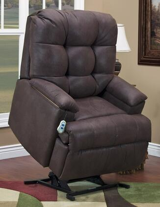 MedLift 5600STCH Contemporary Wood Frame  Recliners