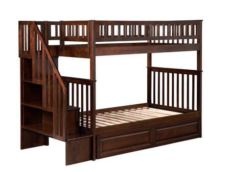 Atlantic Furniture AB56624  Twin Size Bunk Bed