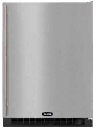 "Marvel 6ARMBSFR 24"" Built In Counter Depth Compact Refrigerator with 103 Cans Capacity, 3 Glass Shelves"