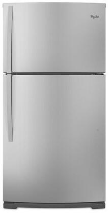 "Whirlpool WRT371SZBF Freestanding Full Size 21.0 cu. ft. No 32.5"" Top Freezer Refrigerator |Appliances Connection"