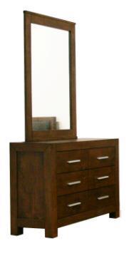 Wholesale Interiors ROBBINDRESSERANDMIRROR109 Robbin Series  Dresser