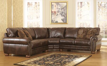 Zoom In Signature Design By Ashley Walcot Durablend Sectional Sofa