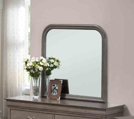Glory Furniture G3105M  Square Both Dresser Mirror