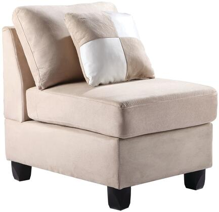 Glory Furniture G631AC Beige Suede