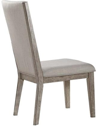 1e35cfddce6a Acme Furniture Rocky Dining Chair 72862 Fabric and Gray Oak ...