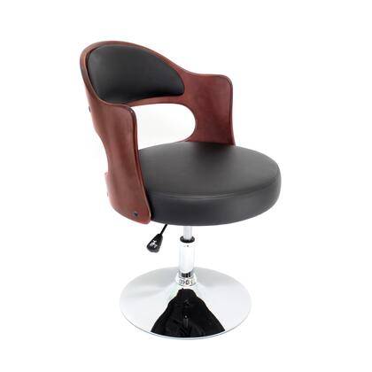 "LumiSource Cello CHR-CLO 21"" Chair with Swivel, Adjustable Height and Leatherette in"
