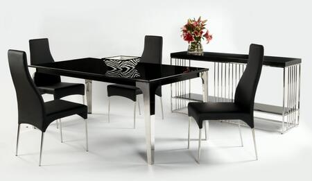 Chintaly CRYSTALDTSET Crystal Dining Room Sets