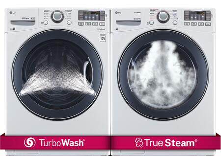 LG LG2PCFL27EWKIT6 Washer and Dryer Combos