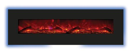 Amantii WMBI728123 Enhanced Series Wall Mountable Electric Fireplace