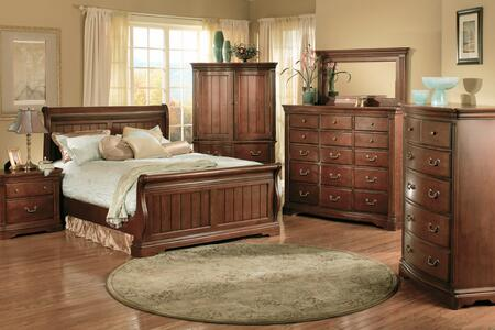 Accent HA859389 Greenbriar Series Solid hardwood with cherry veneers Dresser