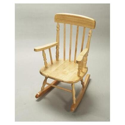 Gift Mark 1410N  Armless  Wood Frame No Rocking Chair