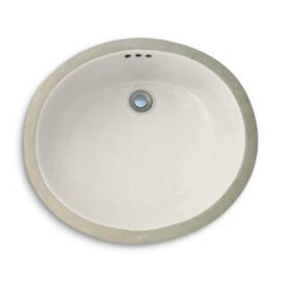 Cole and Co. 1215240117 Hampton Undermount Porcelain Traditional Style Single Bowl Sink in