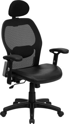 "Flash Furniture LFW42BLHRGG 27.25"" Contemporary Office Chair"