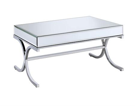 Acme Furniture 81195 Chrome Table