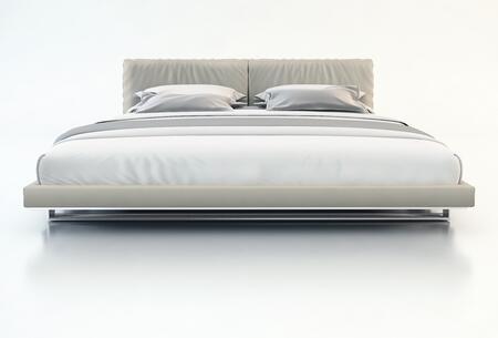 Modloft MD327FGRY Broome Series  Full Size Platform Bed